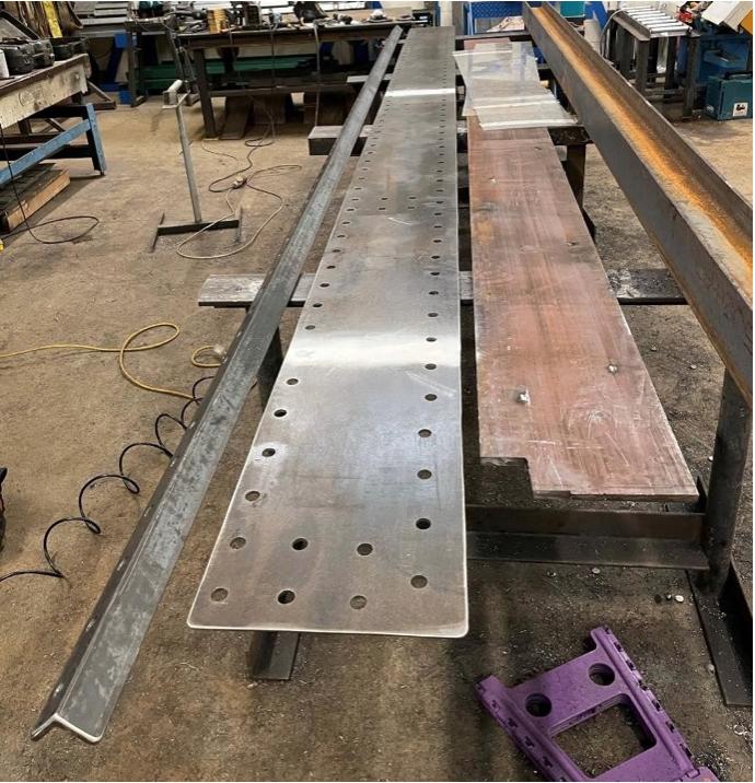 Ultrasonic Inspection - 6mm edge Girder Repair Plate